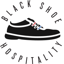 Logo of Black Shoe Hospitality